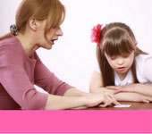 speech therapy for autistic-autism child