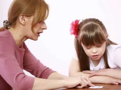 Speech therapy for autism