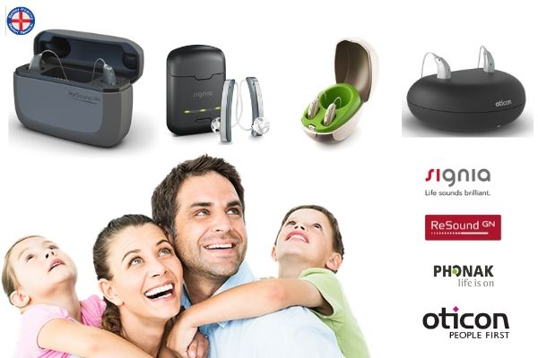 Rechargeable hearing aids in pune